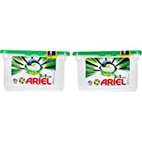 Ariel Automatic 3in1 PODS Laundry Detergent Original Scent,15 count Dual Pack (Pack of 2 pieces)