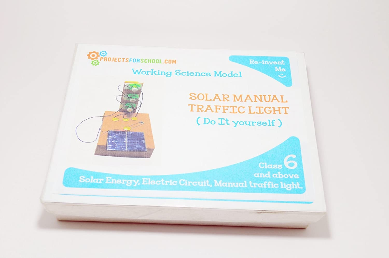 Projectsforschool Solar Powered Traffic Light Science Projects Circuit Pictures Working Models Diy Experiment Kit