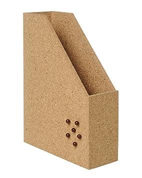 Bi-Office SM030404 - Archivador de notas de corcho, 24 x 32 x 8.5 cm, color natural: Amazon.es: Oficina y papelería