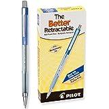 Pilot Better Retractable Ballpoint Pen , Blue Fine Point, 12-Count (30001)