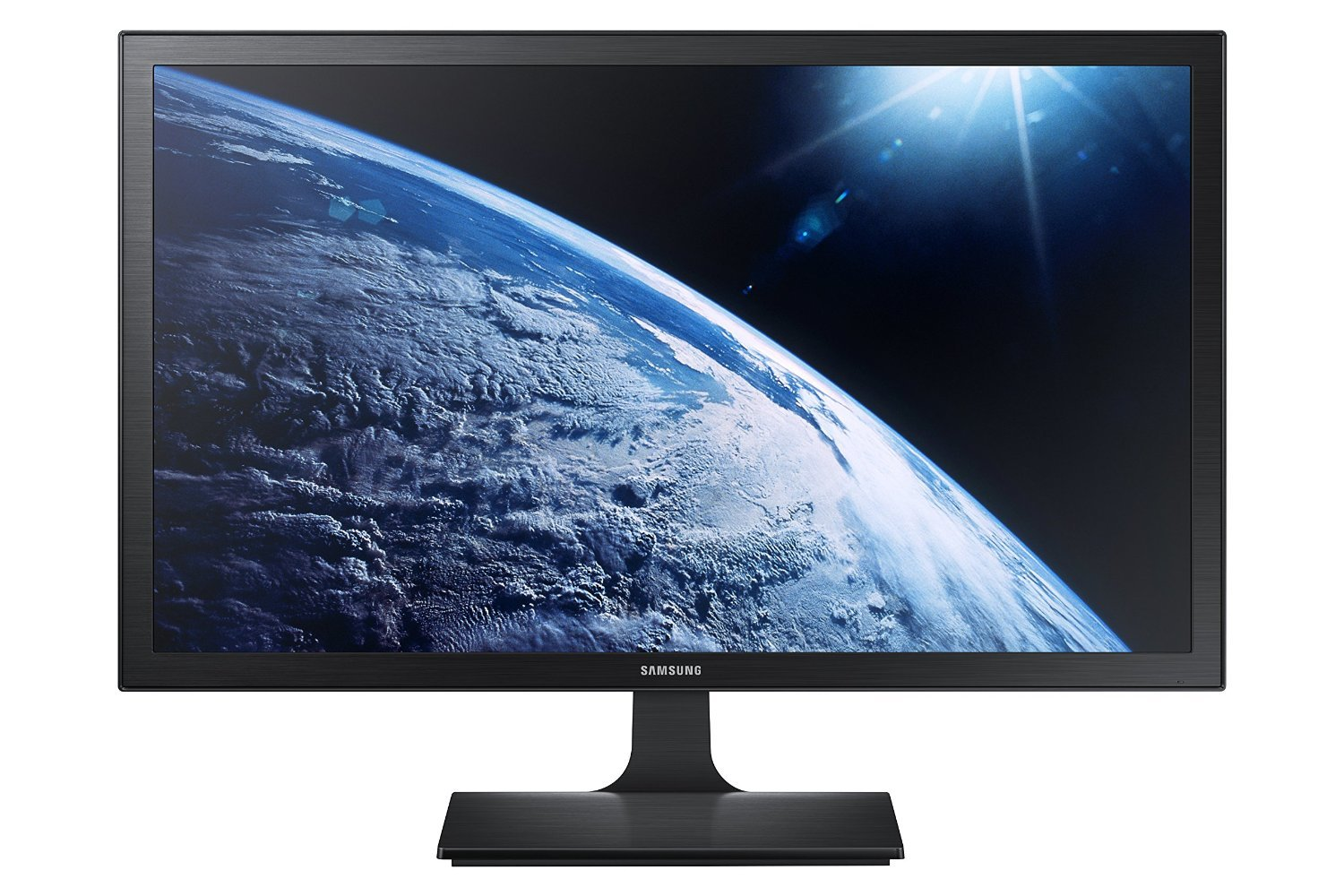 High Performance Samsung 27 Full HD 1920 x 1080 Backlit-LED Gaming Monitor, 16 9 Aspect Ratio, 1ms Response Time, HDMI and VGA Inputs, Black
