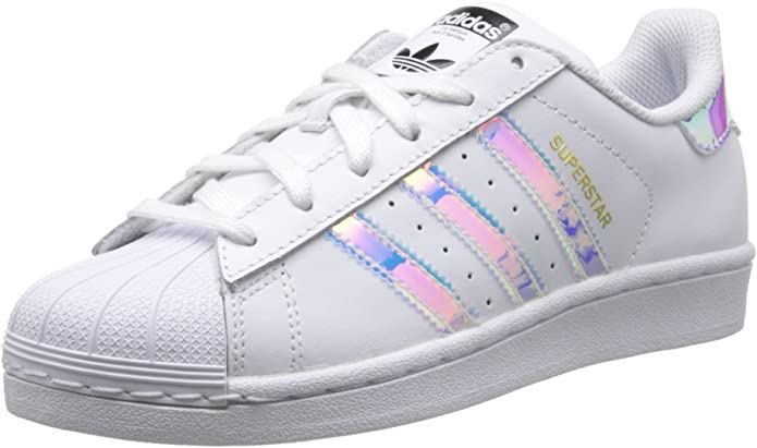 adidas superstar bianco metallic