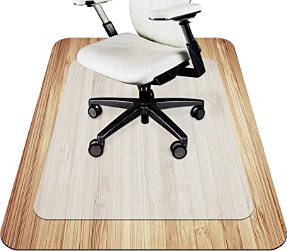 Home Office Carpet Protector Chair Mat Chairmat Frosted PVC None Slip 4 Types BO