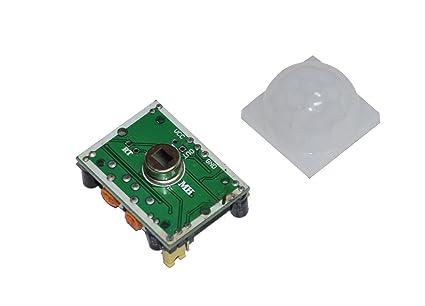 3 pieza: PIR HC – SR501 Detector de movimiento por infrarrojos