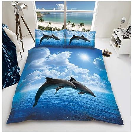 Gaveno Cavailia 3d Wildlife Delfin Bettwäsche Set Mit Bettbezug Und