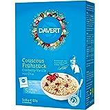 Davert Couscous Frühstück Cranberry-Vanille, 3er Pack (3 x 325 g)