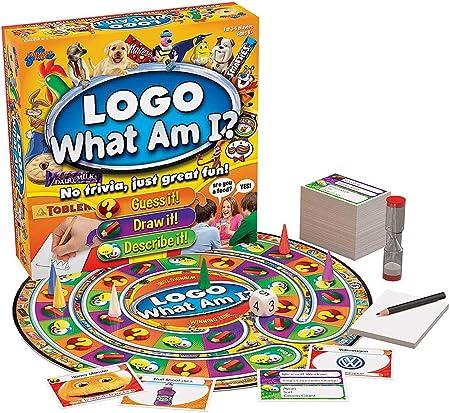 Ydq Logo What Am I ?250 Piezas Juego De Mesa Cartas Puzzle Fun,Pokemon Tarjetas Kit Set, Estrategia TemáTica, Tarjeta Coleccionable, Mejor Regalo Infantil Family y Adultos [VersióN Inglesa]: Amazon.es: Deportes y aire