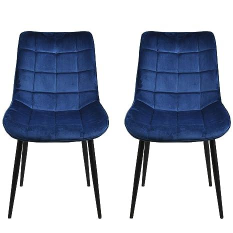 Enjoyable Amazon Com Modern Dining Chairmetal Legs Velvet Cushion Download Free Architecture Designs Grimeyleaguecom