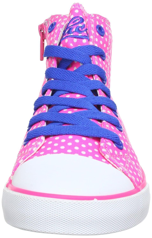 Lico Rose Pink Blau 180271 Baskets Mode Fille Rose Fille Pink