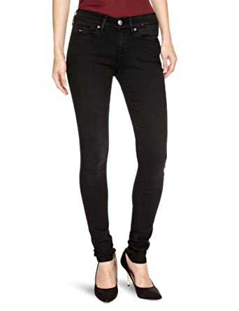 3b262de0 Tommy Hilfiger Nora Skinny GBLST Skinny Women's Jeans Garnet Black Stretch  W24 INxL30 IN