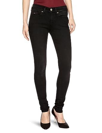f79d5753914 Tommy Hilfiger Nora Skinny GBLST Skinny Women's Jeans Garnet Black Stretch  W24 INxL30 IN