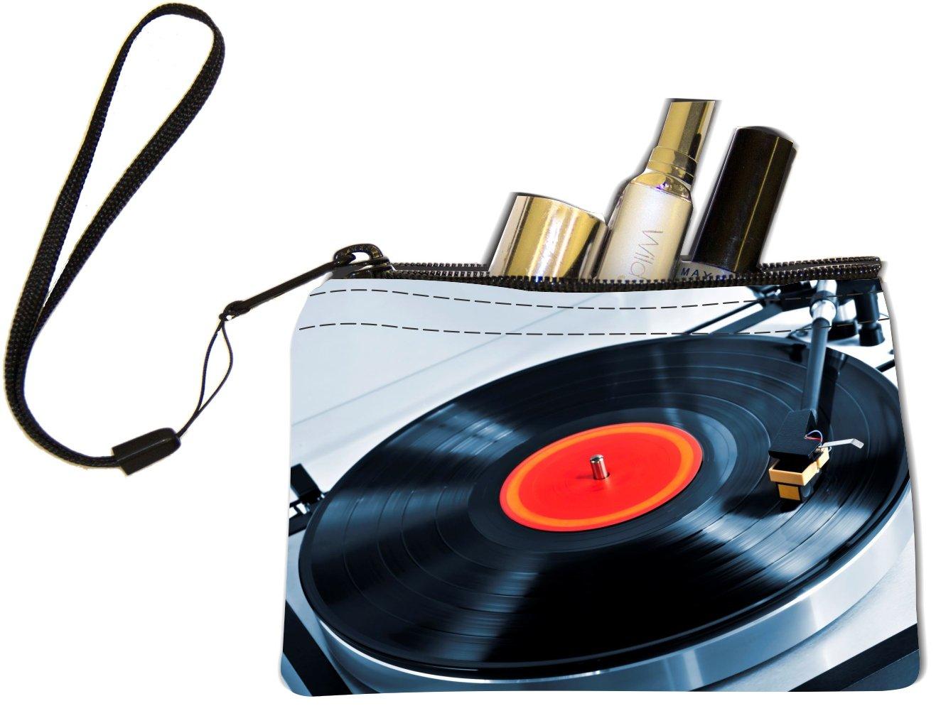 Rikki Caballero teclas de discos de vinilo en diseño de tocadiscos ...
