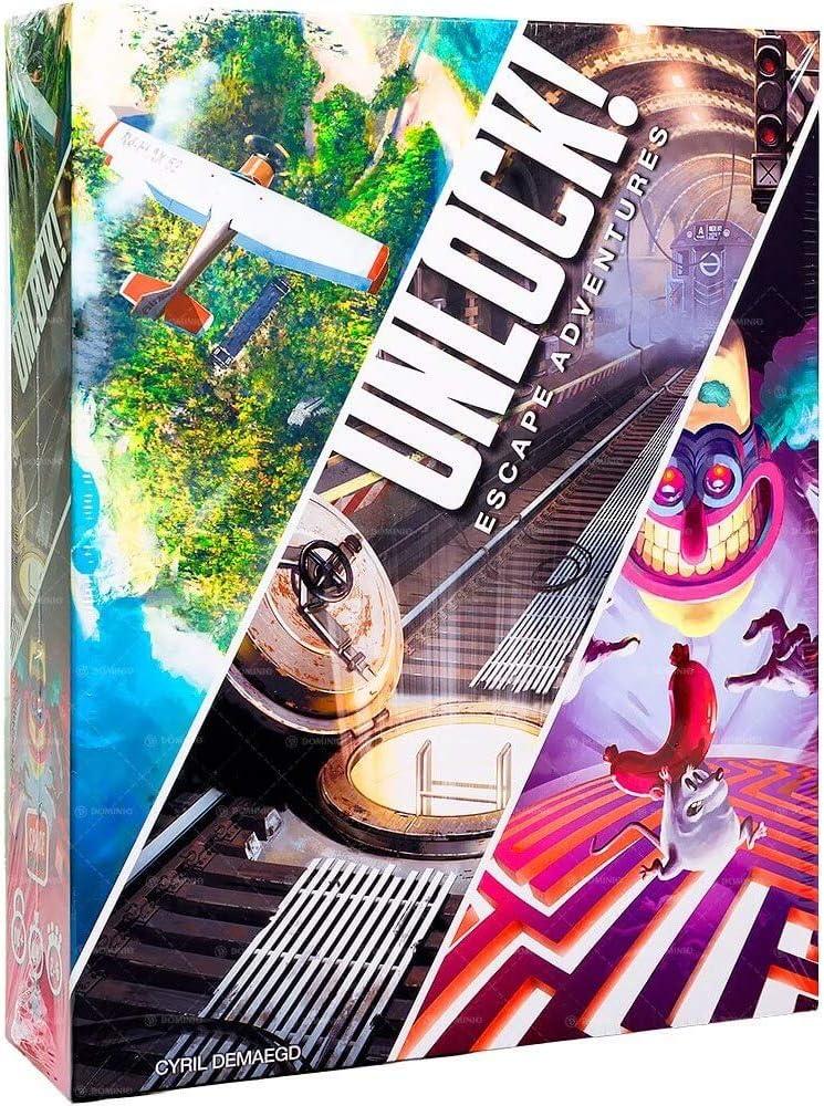 Asmodee - Unlock! - Italiano: Amazon.es: Juguetes y juegos
