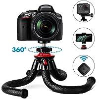 Mini Tripé Flexível Para Câmeras Dslr Mirrorless Compactas Gopro Action Cam SJcam Smartphone Sem Controle Bluetooth