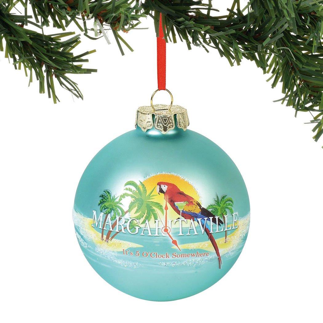 Multicolor 3.5 Hanging Ornament Department 56 Margaretville Its 5 Oclock Somewhere