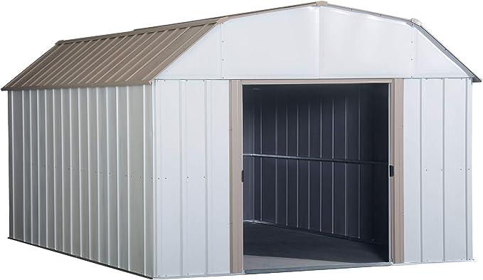 Arrow Shed AR1012-C1 Arlington 10-Feet by 12-Feet Steel Storage Shed