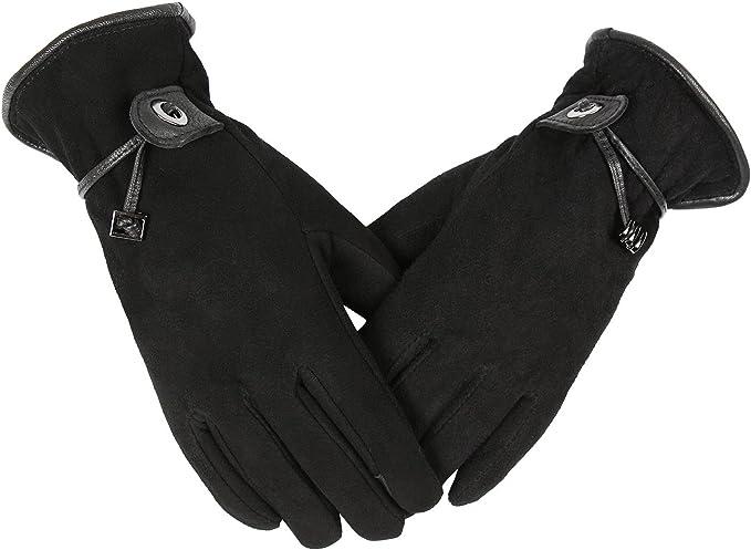 30/°F Cold Proof Heated Glove Deerskin Winter Gloves