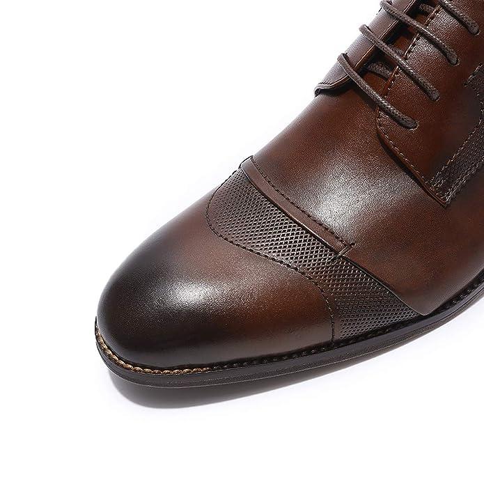 Amazon.com: MIKCON Zapatillas Oxford para Hombre, Zapatos de ...