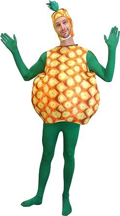 Adultos Deluxe disfraz de piña: Amazon.es: Ropa y accesorios