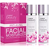 Anti-Aging Natural & Organic Facial Moisturizer - Light Weight Daily Moisturizer for Women - Hydrating for Sensitive, Normal, Oily, Combo, or Dry Skin Types by Oleavine