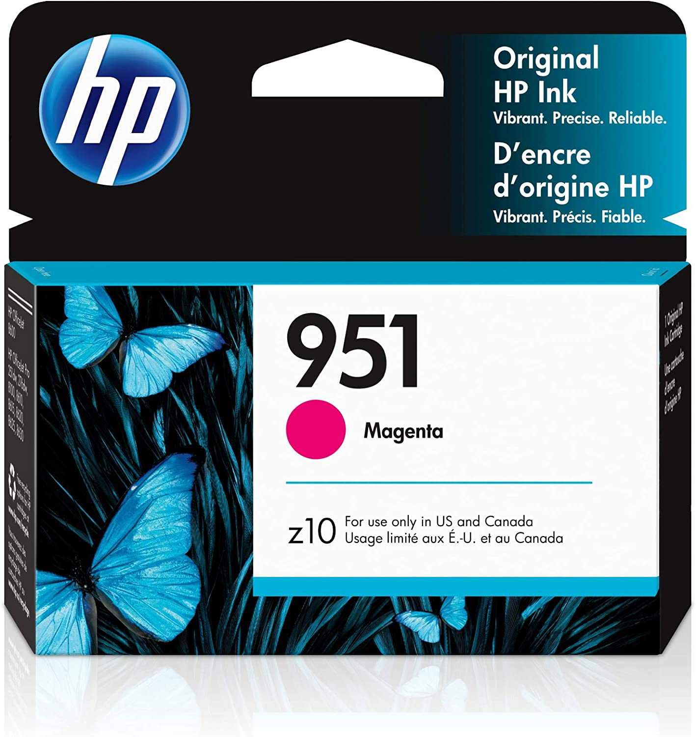 HP 951 | Ink Cartridge | Magenta | CN051AN, 1 Size