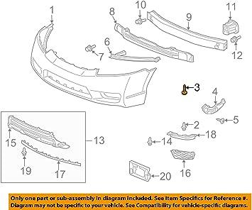 Honda 93913-25320 Screw Genuine Original Equipment Manufacturer OEM Part