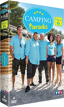 Coffret Camping Paradis Vol  Fr Import Dvd Ournac