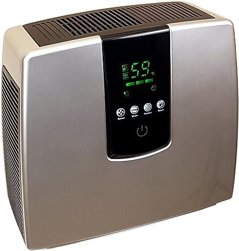 Baren B-H04 - Purificador de aire con panel táctil, HEPA, aroma de ozono de carbón activado hasta un máximo de 25 m², varios colores: Amazon.es: Electrónica