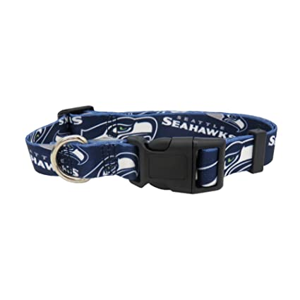 783368a71 Image Unavailable. Image not available for. Color  NFL Seattle Seahawks  Team Pet Collar ...