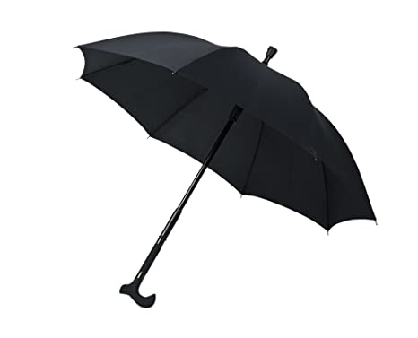 Paraguas bastón, negro, Rob McAlister