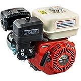 Groway MT160SR - Motor a gasolina 4T OHV de 163 cc, 5.5 HP, eje