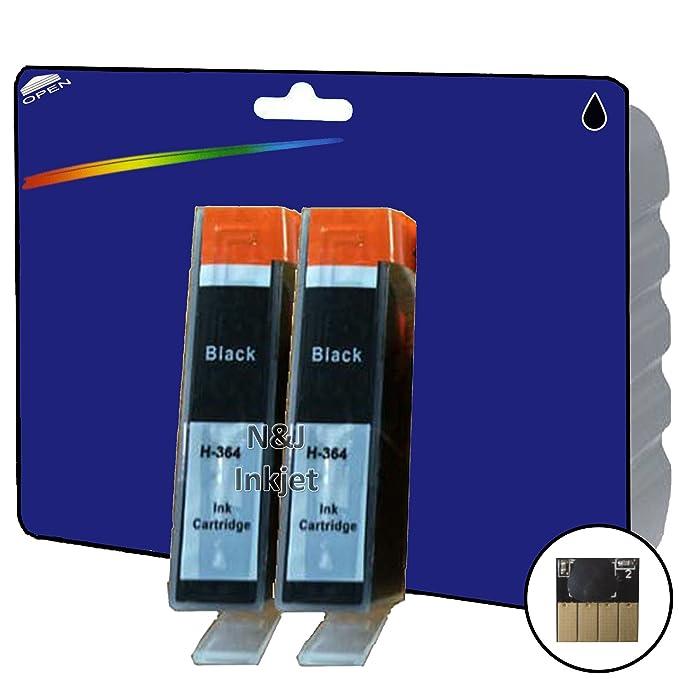 2 cartuchos de tinta compatibles con impresoras HP ...