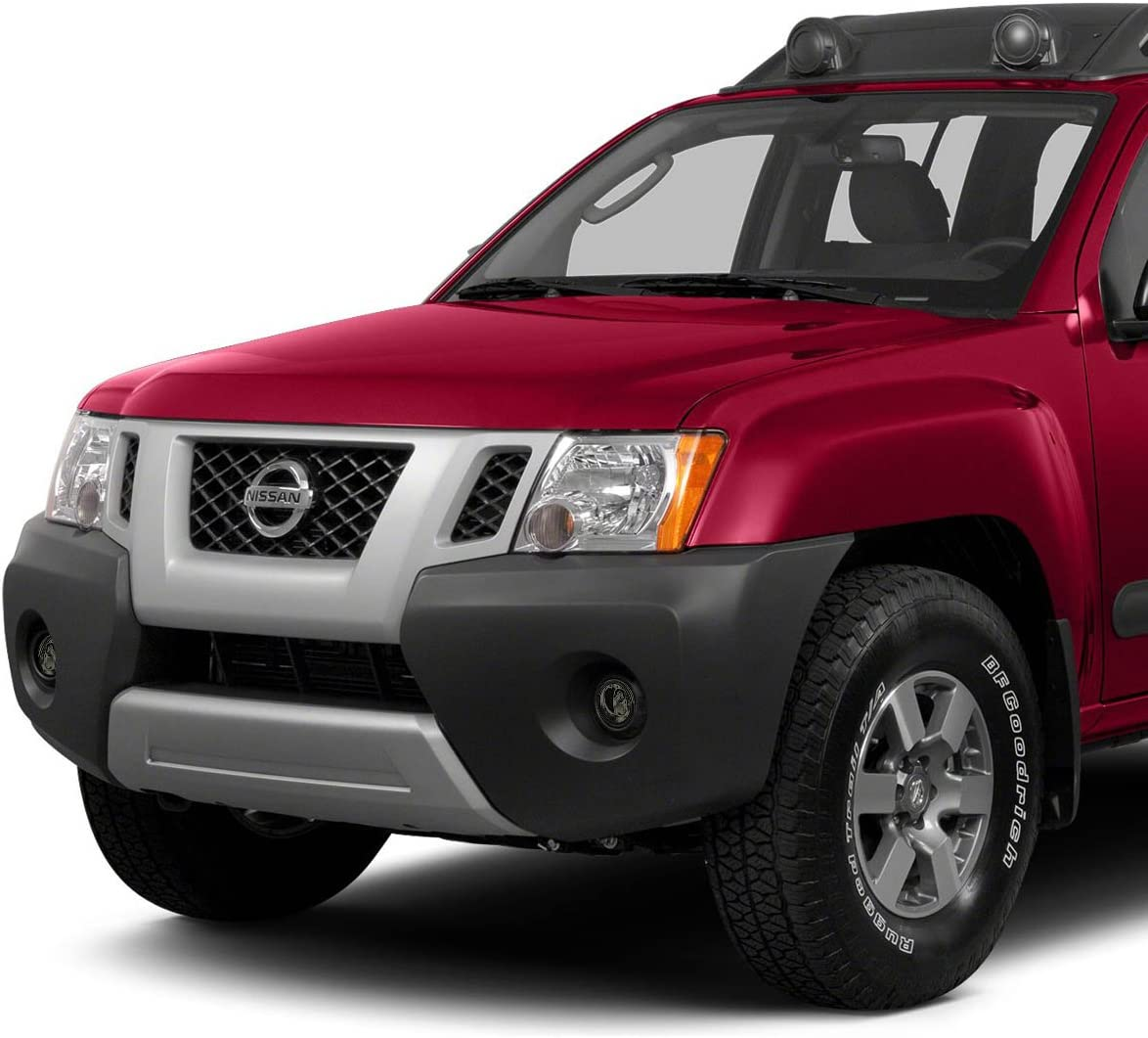 Replace for 05-18 Nissan Frontier//Xterra DNA Motoring FL-NS029-SM Front Bumper Fog Light