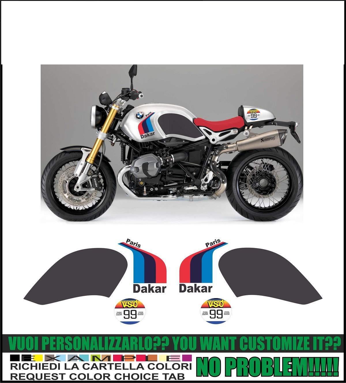 Ability to Customize The Colors Kit adesivi Decal stikers BMW R NINET Paris Dakar