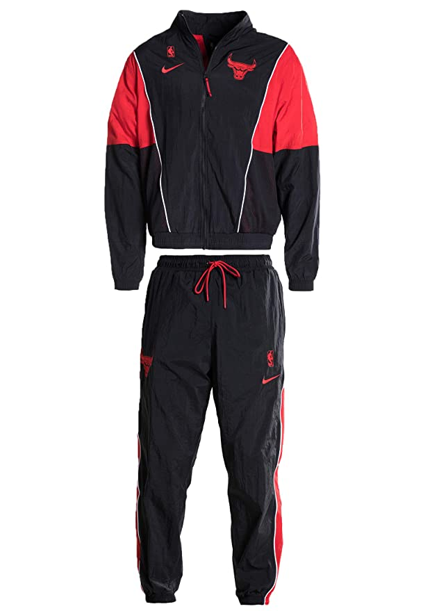 Nike CHI M NK Tracksuit Courtside - Chándal, Hombre, Gris(Black ...
