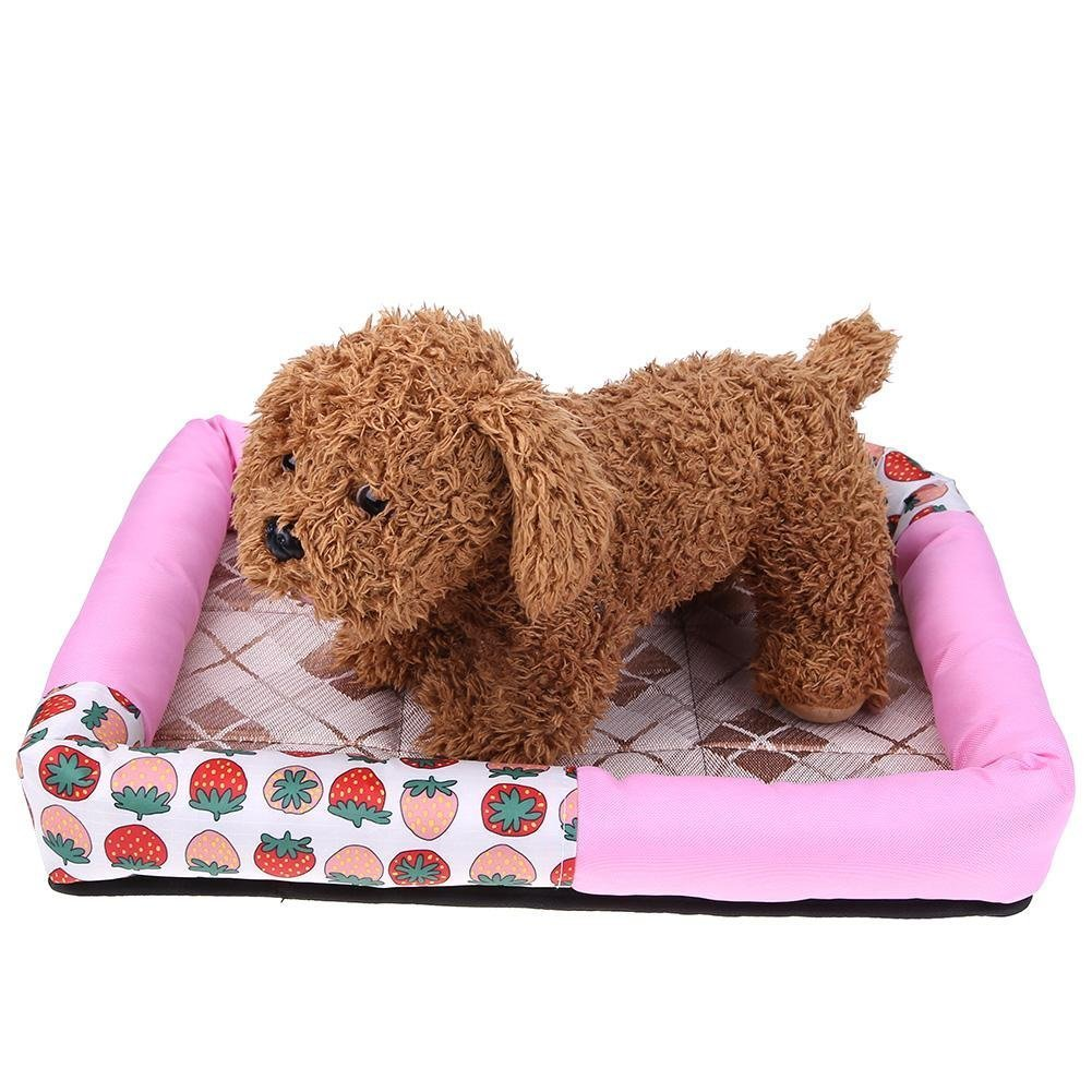 Sun Glower Glower Glower Coperta delle forniture dell'animale Impermeabile Pet Dog Bed Puppy House Kennel Cat Nest Mat rosa M c539c0