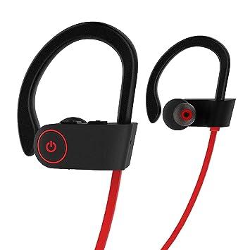 Auriculares Bluetooth para iPhone Samsung Sony - Auricular Inalámbricos para Móviles Android iOS – Cascos Deportivos