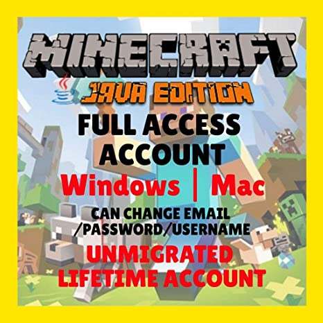 Minecraft: Premium Java Edition (Windows, Mac): Amazon in