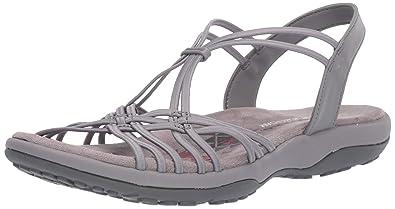 538f1f215 Skechers Women  39 s Reggae Slim-Slip Spliced-Gore Slingback Sandal
