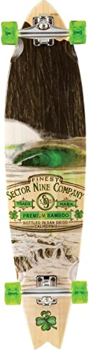 Sector 9 Ireland Bamboo 38 Complete Longboard – 5 Ply Bamboo construction – All Original Sector 9 Components