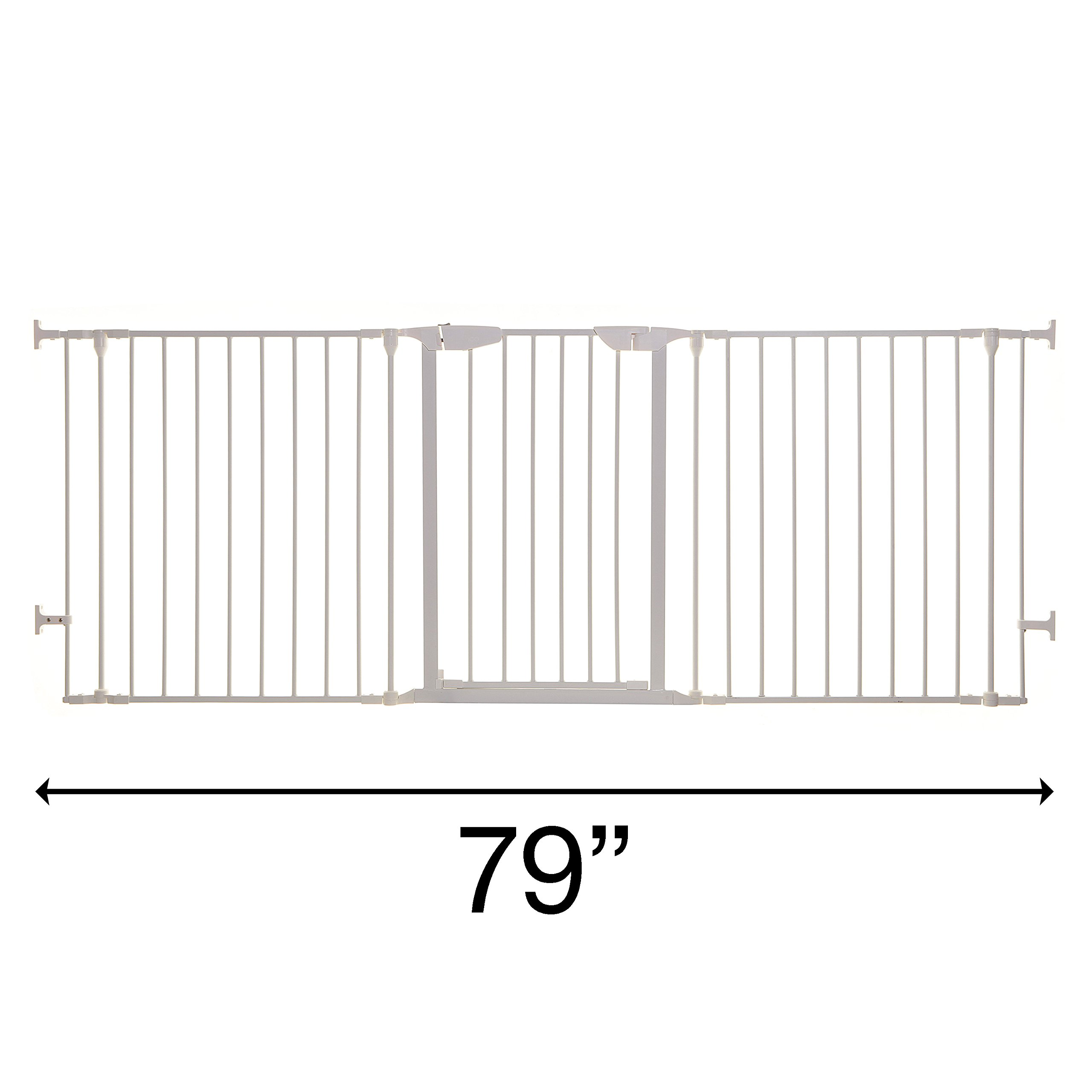 Dreambaby Newport Adapta Gate (White)
