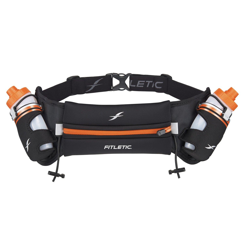 Fitletic Small Hydration Belt S/M Black & Orange