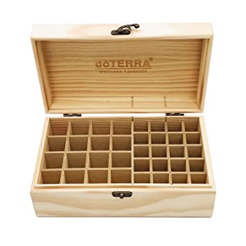 87 Slots Oil Storage Box Wooden Essential Case Organizer Aromatherapy Holder