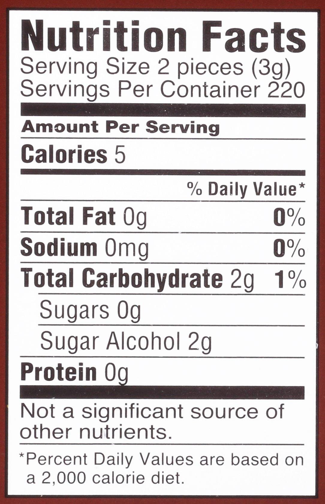 Dentyne Fire Spicy Cinnamon Sugar Free Chewing Gum Bag  110 Count (Pack of 4)