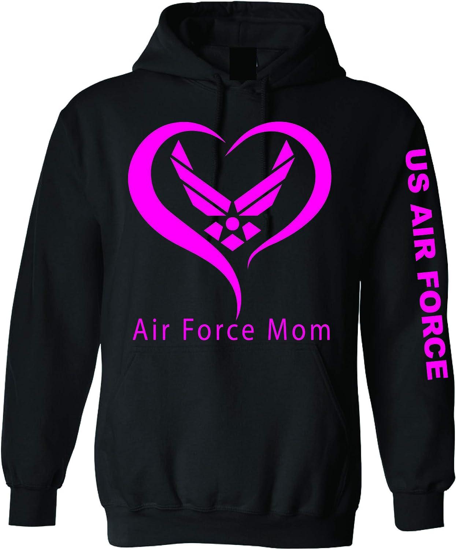 zerogravitee USAF Mom Hooded Sweatshirt