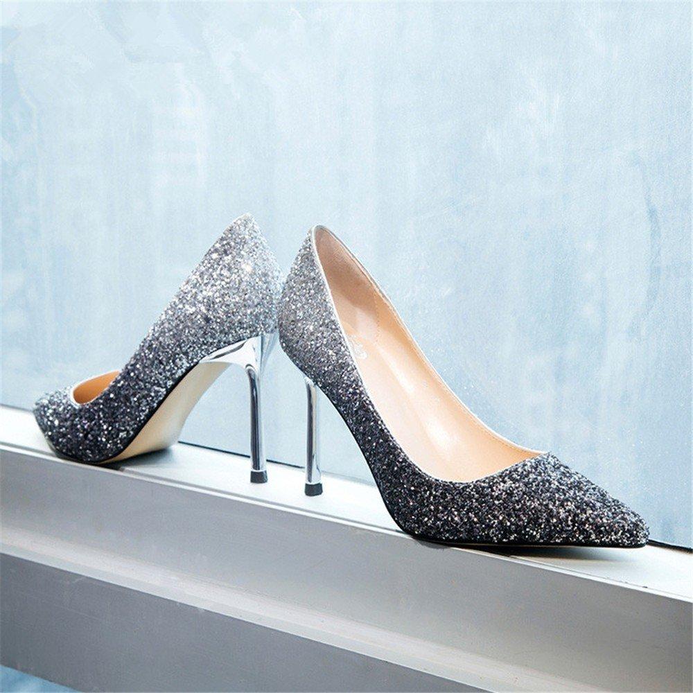 HXVU56546 Neue Präsident Einzelne Schuhe Frühjahr Und Und Und Herbst Jahreszeiten Fine Crystal Schuhe Mit Hohen Absätzen B07BJ7F9G3 Tanzschuhe Elegant 2a6875