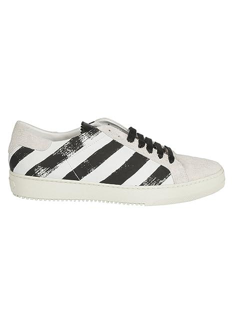 OFF-WHITE - Zapatillas para hombre blanco/negro IT - Marke Größe, color, talla 42 IT - Marke Größe 42: Amazon.es: Zapatos y complementos