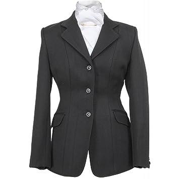 Hunt Marlborough Shires de lana abrigo traje de neopreno para mujer abrigo impermeable para mujer,