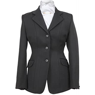 a41713f70a5f0 Shires Ladies Marlborough Wool Hunt Coat Jacket: Amazon.co.uk: Sports &  Outdoors