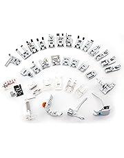 CLE DE TOUS@ Kit de 32pcs multifuncional prensatelas para maquina de coser Presser Foot Feet